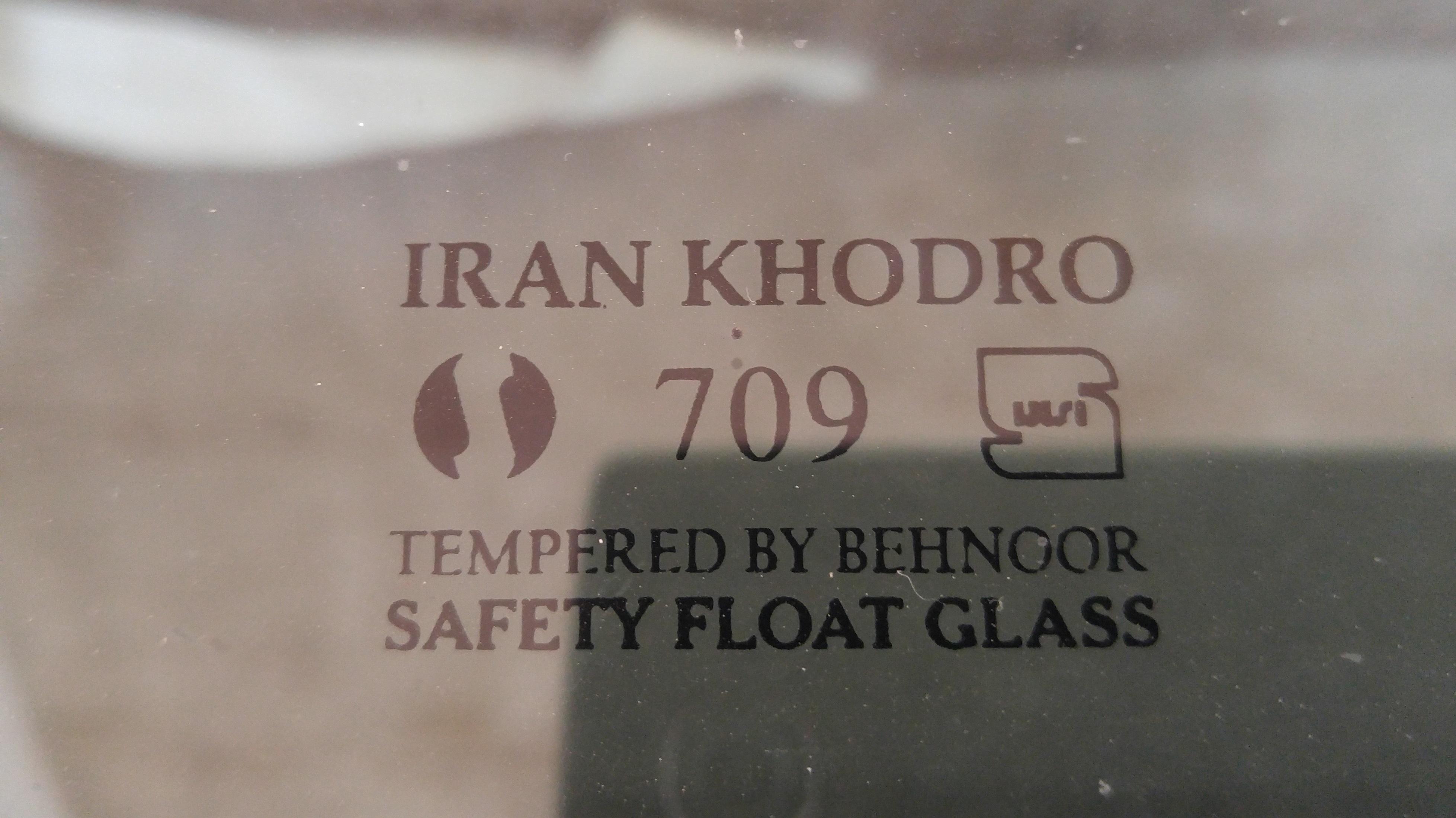 برچسب های شفاف شیشه خودرو