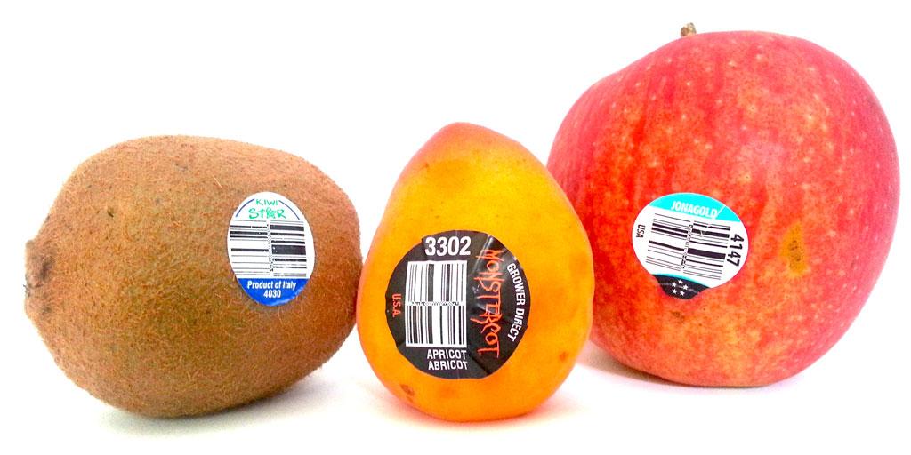 برچسب میوه های وارداتی