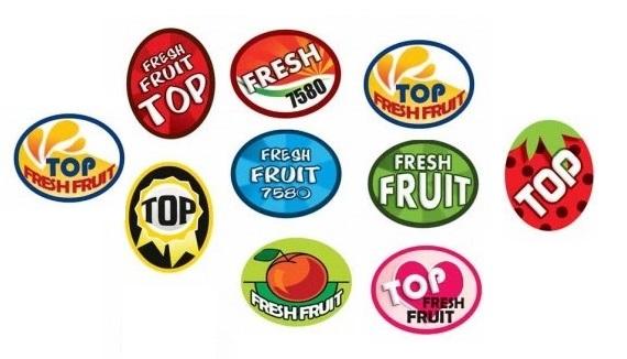 انواع برچسب میوه